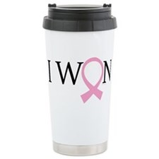 I Won Breast Cancer Travel Mug