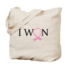 I Won Breast Cancer Tote Bag