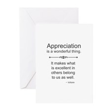 Appreciation Is A Wonderful Thing Greeting Cards