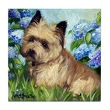 Cairn Terrier DOG Tile Coaster