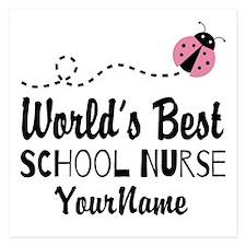 World's Best School Nurse Invitations