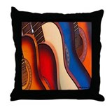 GUITARRAS  Throw Pillow