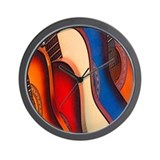 GUITARRAS  Wall Clock