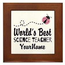 World's Best Science Teacher Framed Tile