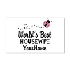 World's Best Housewife Car Magnet 20 x 12