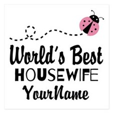 World's Best Housewife Invitations