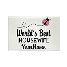World's Best Housewife Rectangle Magnet (100 pack)