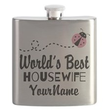 World's Best Housewife Flask