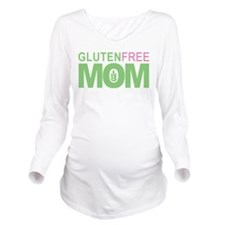 Gluten FREE Mom Long Sleeve Maternity T-Shirt