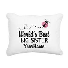 Worlds Best Big Sister - Personalized Rectangular