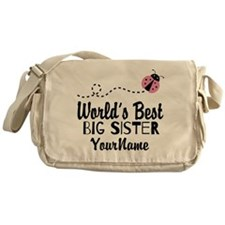Worlds Best Big Sister - Personalized Messenger Ba