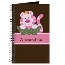 Queen Of The Jungle Girl Journal Add A Name