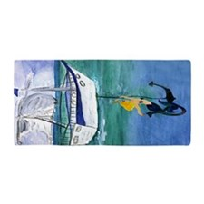 Blond Mermaid Beach Towel