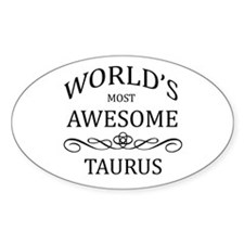 World's Most Awesome Taurus Decal