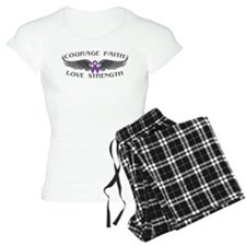 Lupus Courage Wings Pajamas