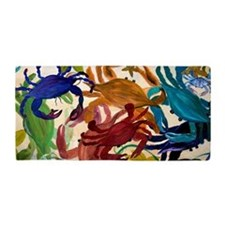 Crab Party Beach Towel