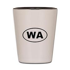 Washington WA Shot Glass