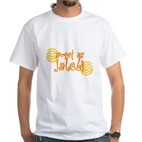 Sweet as jalebi White T-Shirt