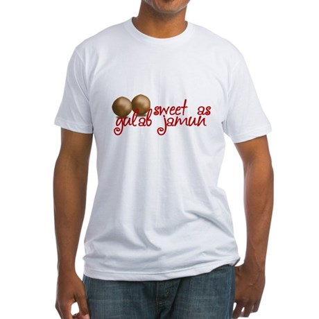 Sweet as gulab jamun Fitted T-Shirt