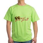 Sweet as gulab jamun Green T-Shirt