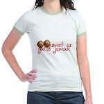 Sweet as gulab jamun Jr. Ringer T-Shirt