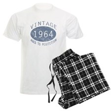 1964 Vintage Birthday (blue) Pajamas