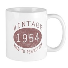 1954 Vintage Birthday (red) Mug