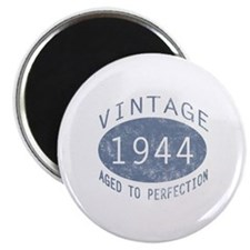 1944 Vintage Birthday (blue) Magnet