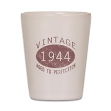 1944 Vintage Birthday (red) Shot Glass
