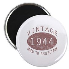 "1944 Vintage Birthday (red) 2.25"" Magnet (100 pack"