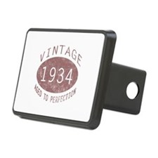 1934 Vintage Birthday (red) Hitch Cover