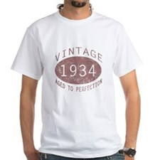 1934 Vintage Birthday (red) Shirt