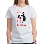 Funny Alien / Ufo Women's T-Shirt