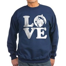 Love Husky Sweatshirt