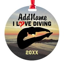 BEST DIVER Ornament
