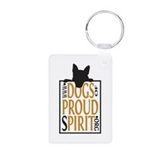 Proud Spirit Sanctuary Dogs Keychains