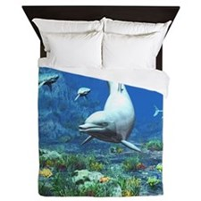Underwater World Queen Duvet