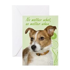 Jack Russell Love And Support Cards