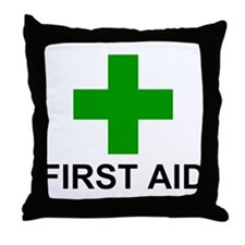 GC First Aid Throw Pillow