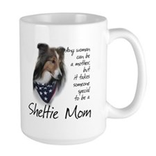 Sheltie Mom #1 Coffee Mug