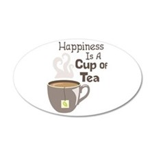 Happiness Is A Cup Of Tea Wall Decal