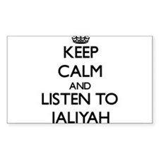 Keep Calm and listen to Jaliyah Decal
