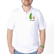 Personalized Pickle and Ice Cream T-Shirt