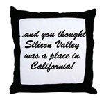 The Californian Throw Pillow