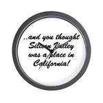 The Californian Wall Clock