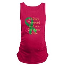 2nd Chance At Life (Kidney) Maternity Tank Top
