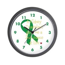 2nd Chance At Life (Kidney) Wall Clock