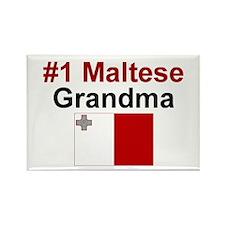 Malta #1 Grandma Rectangle Magnet