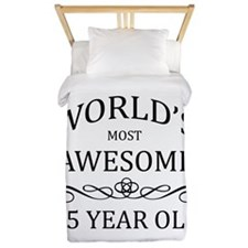 World's Most Awesome 65 Year Old Twin Duvet