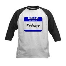 hello my name is fisher Tee